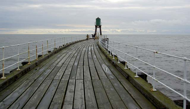 Whitby Pier Fishing