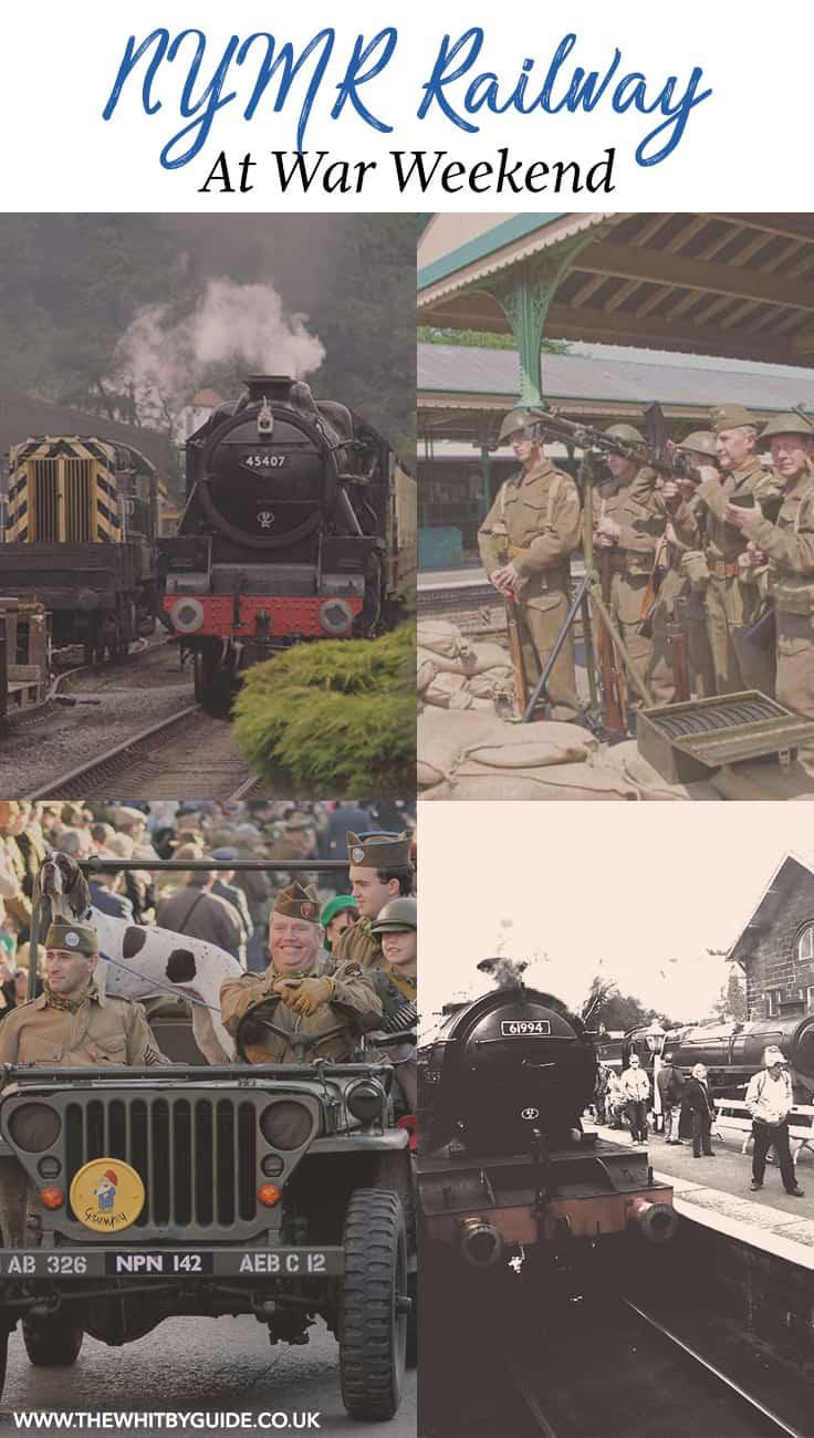 North York Moors Railway at War Weekend
