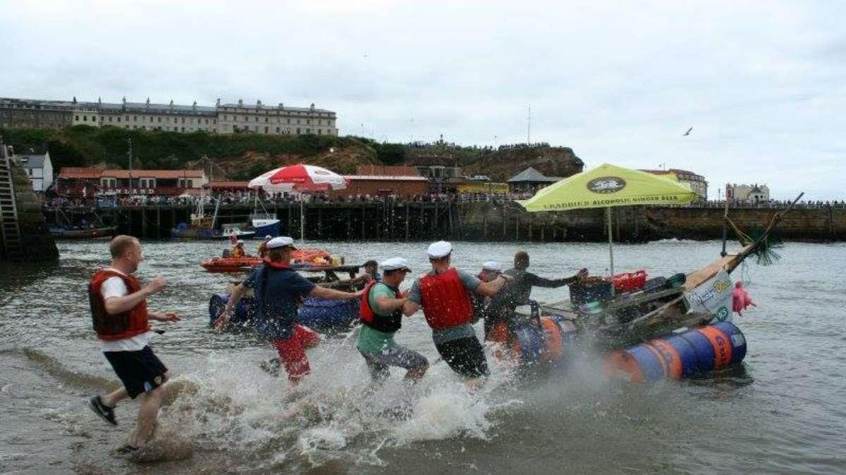 Whitby Regatta Raft