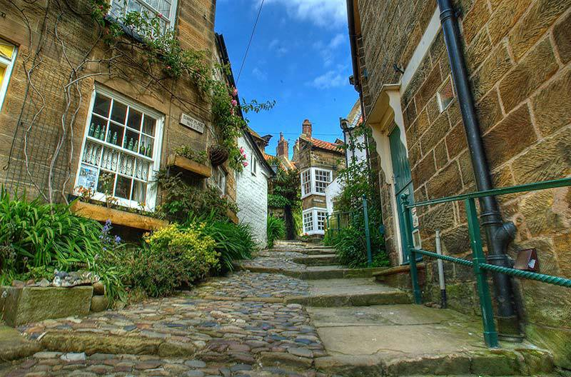 Robin Hoods Bay image by Thomas Tolkien