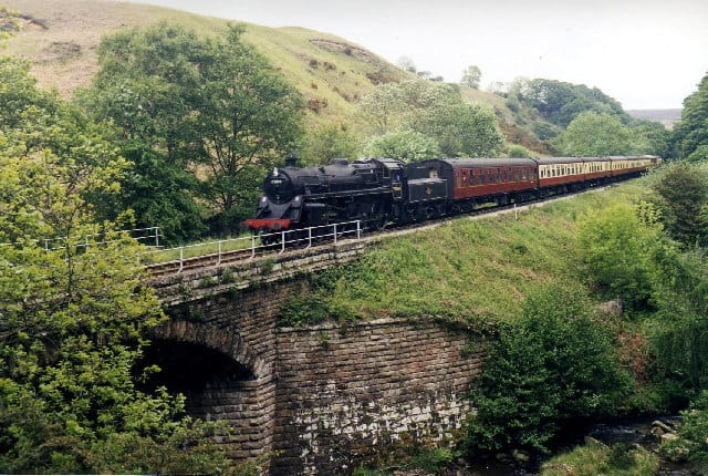 North Yorkshire Moors Railway Across The Moors