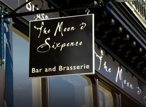 The Moon & Sixpence Restaurant in Whitby