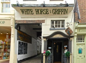 Whitby Restaurants, White Horse & Griffin