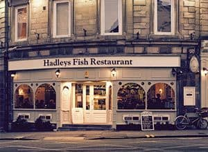 Whitby Restaurants - Hadley's Fish and Chips