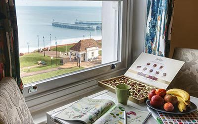 Sea Breeze B&B in Whitby with sea views