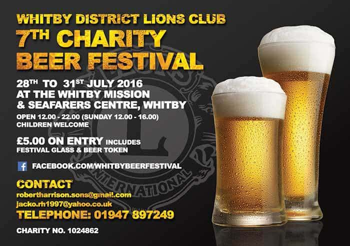 Whitby & District Lions Beer Festival