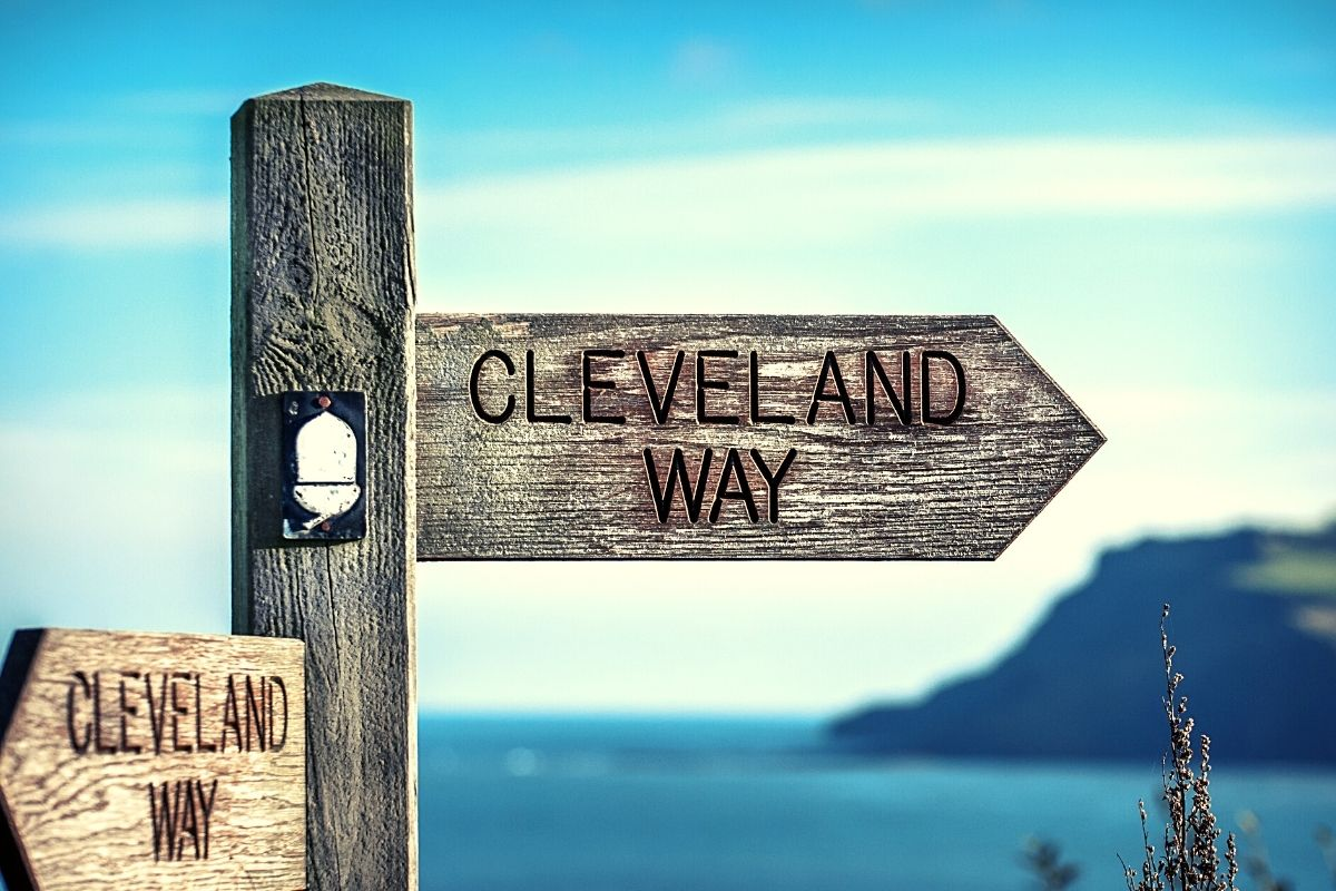 Cleveland Way Signpost