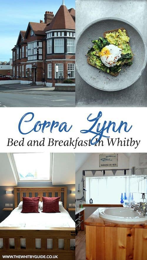 Corra Lyn bed and breakfast in Whitby.