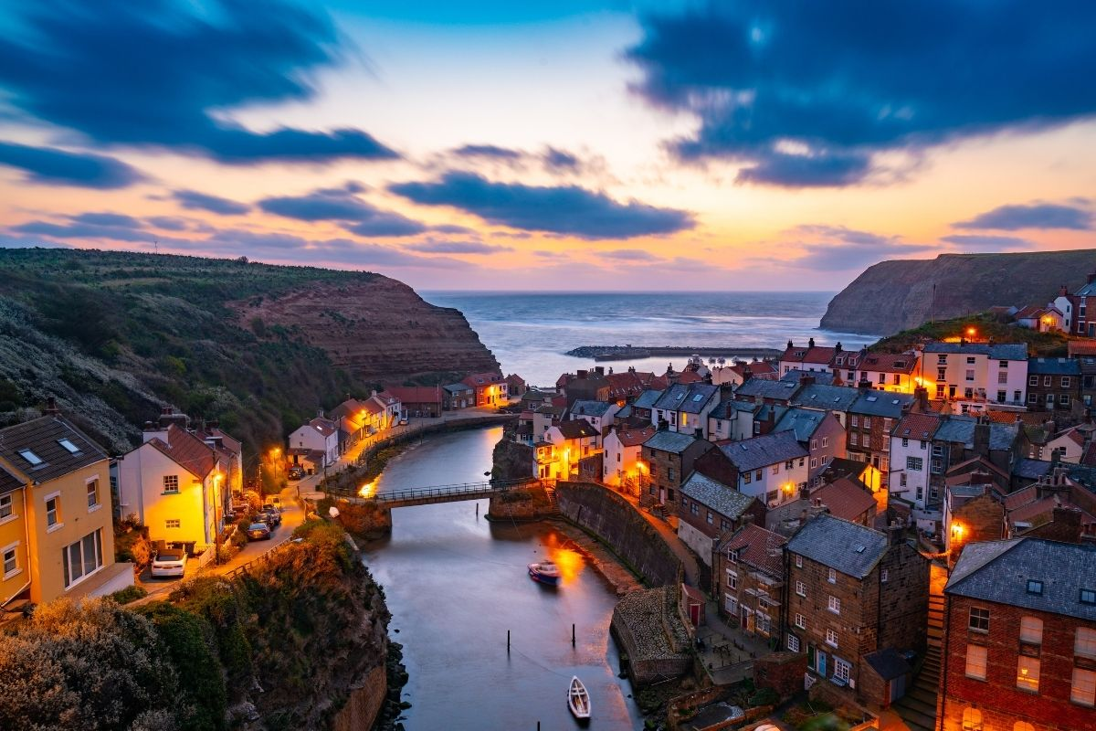 Evening Light in Staithes