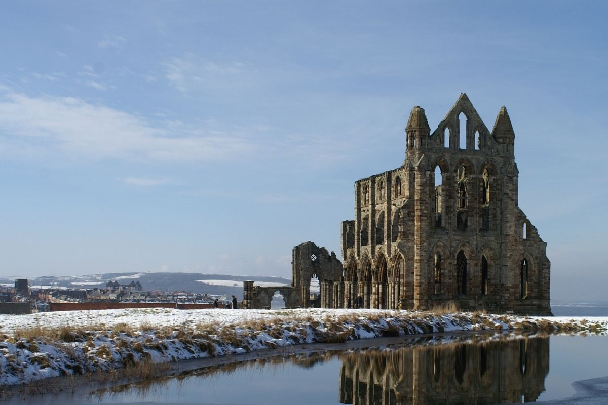 Whitby Abbey in the Winter