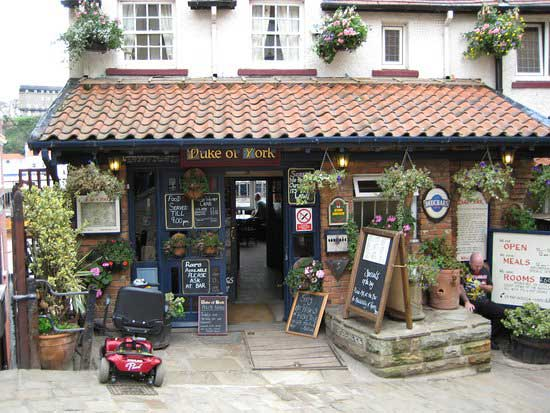 The Duke of York Pub in Whitby