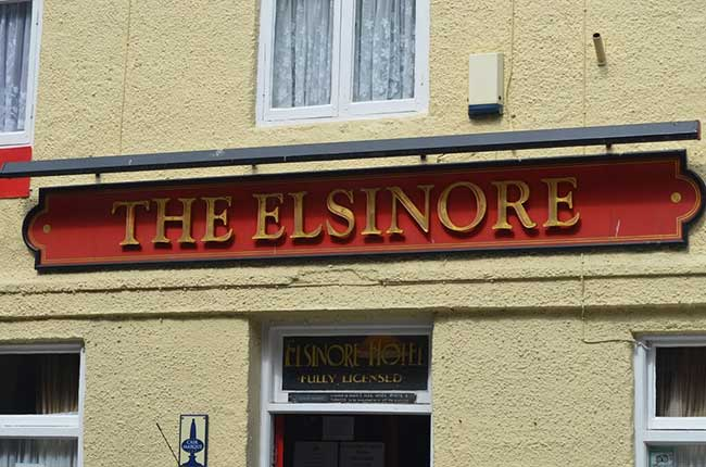 The Elsinore Pub in Whitby