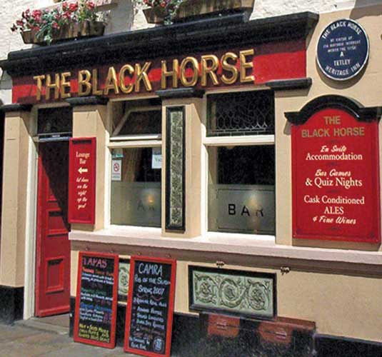 The Black Horse Inn Dog Friendly Whitby Pub