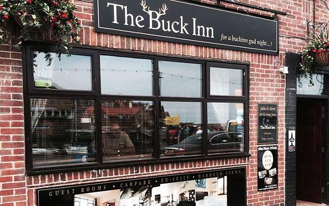 The Buck Inn Dog Friendly Pub in Whitby