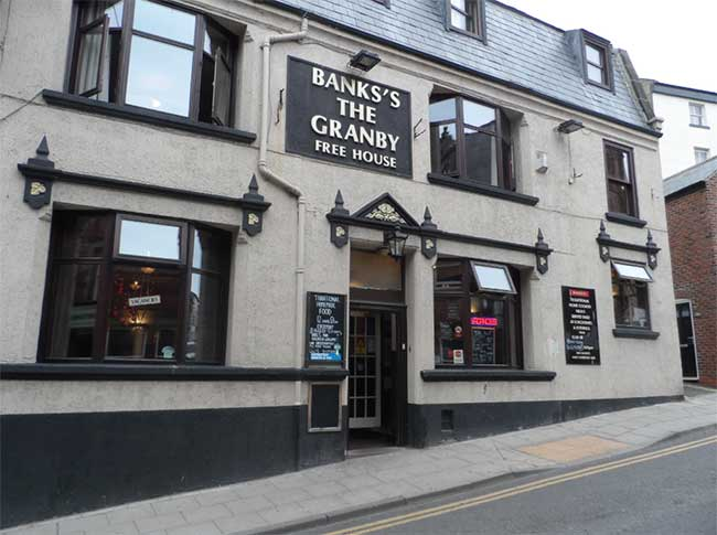 The Granby Dog Friendly Pub In Whitby