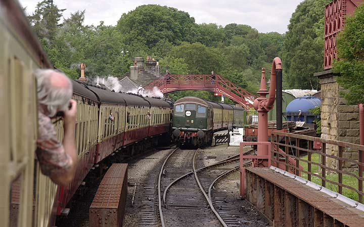 Things to do in Whitby, visit Goathland Railway Station.