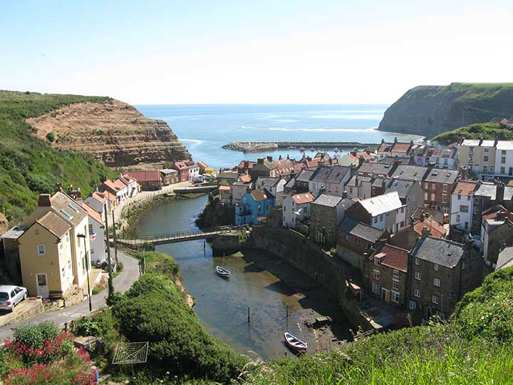 Things to do in Whitby, visit Staithes