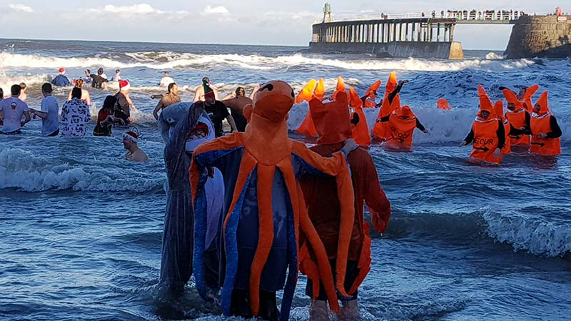 Whitby Boxing Day Dip