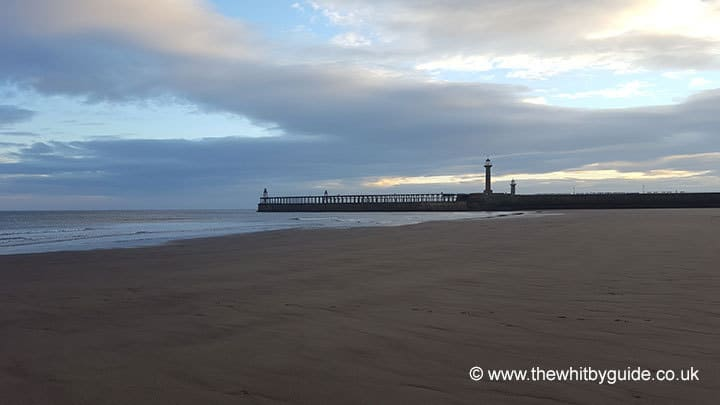 Whitby's West Beach