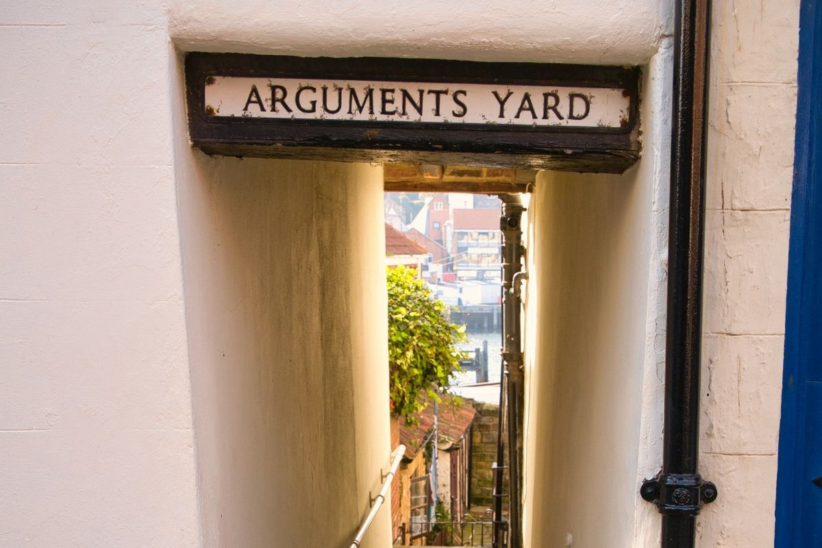 Arguments Yard in Whitby