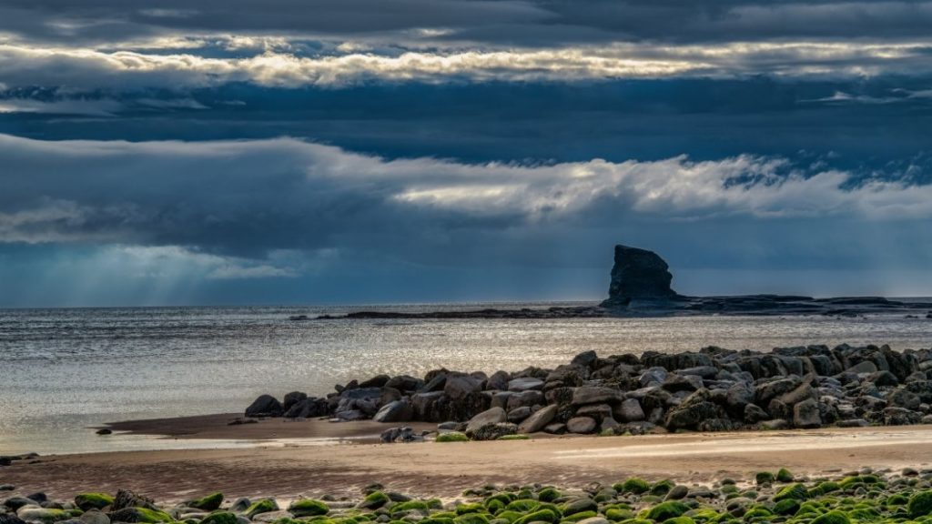 Black Nab, Saltwick Bay.