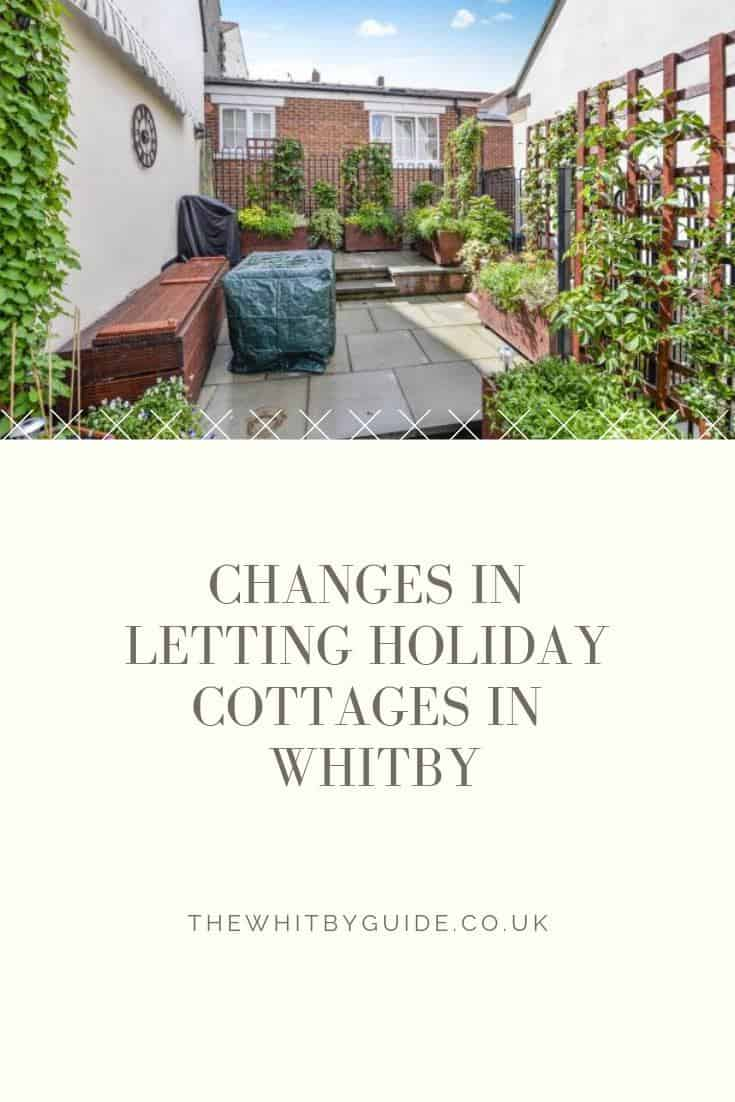 Changes in Letting Holiday Cottages in Whitby