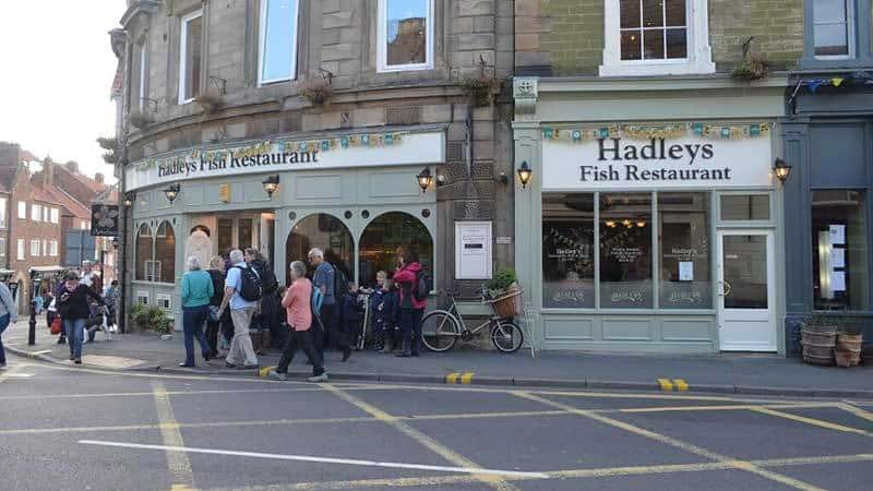 Hadley's Fish Restaurant in Whitby