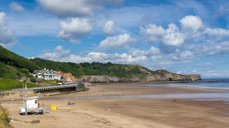 Sandsend is just a short drive from Whitby
