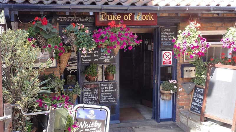 The Duke Of York Pub & Restaurant in Whitby