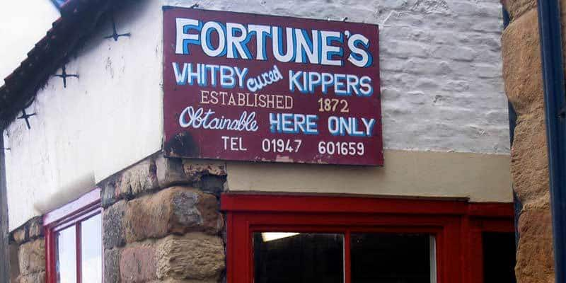 Fortunes Smokehouse & Shop in Whitby