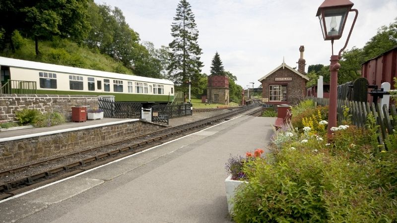 Hogsmeade Station is in Goathland