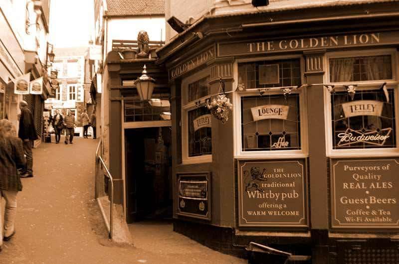 Golden Lion Pub Whitby