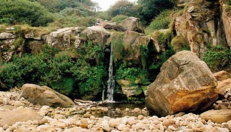 Hayburn Wyke Waterfall