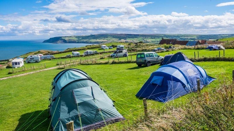 Bay Ness Camping near Whitby
