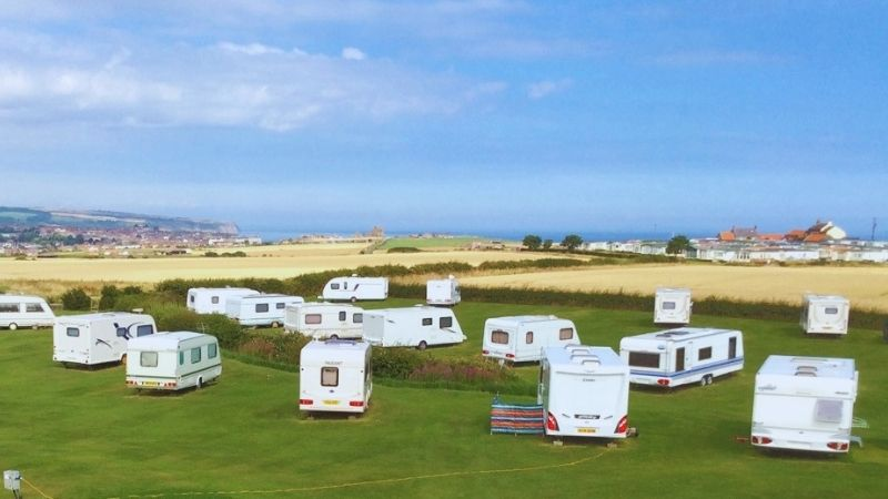 Manor House Camping in Whitby