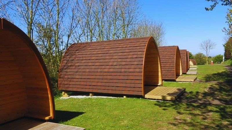 Whitby Camping Pods