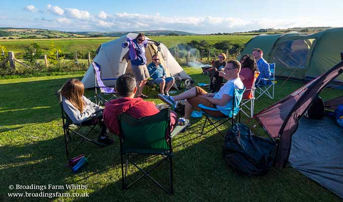 Broadings Farm Camping