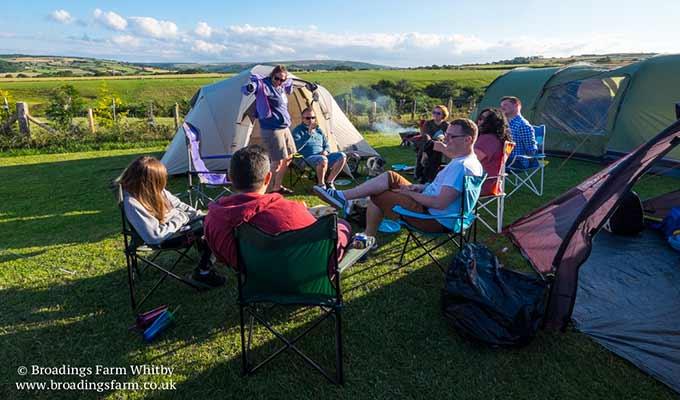 Broadings Farm Camping