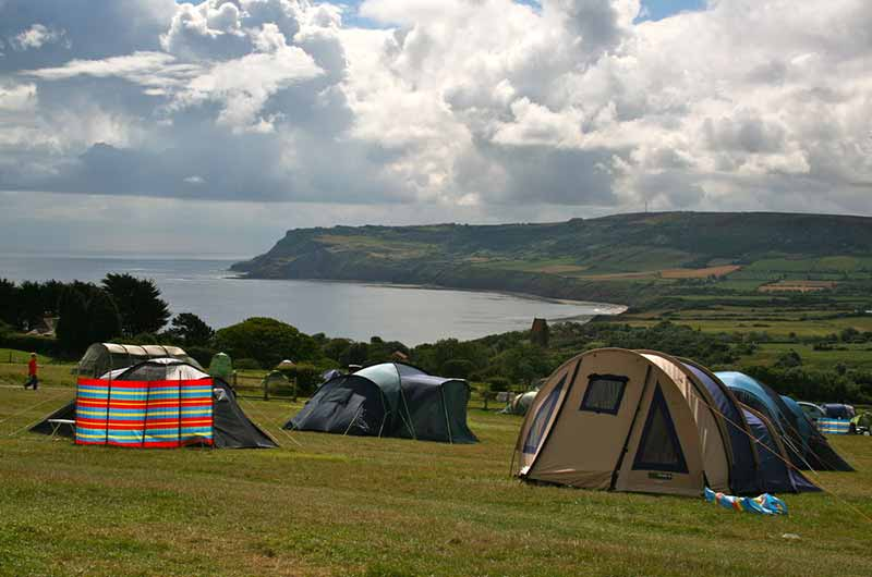 Staithes Accommodation; Serenity Camping