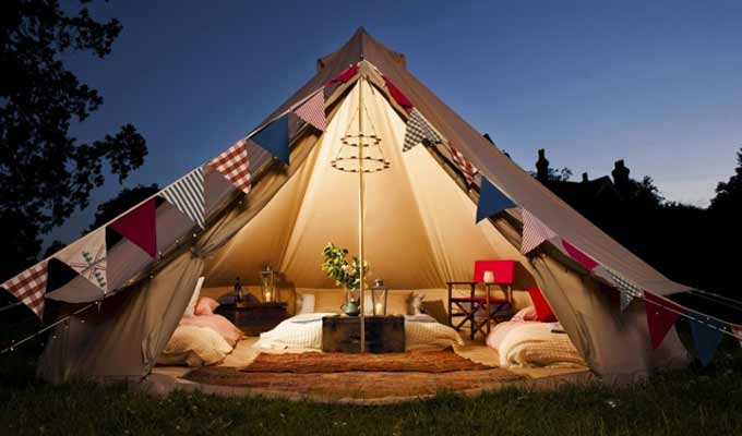 Glamping near Whitby