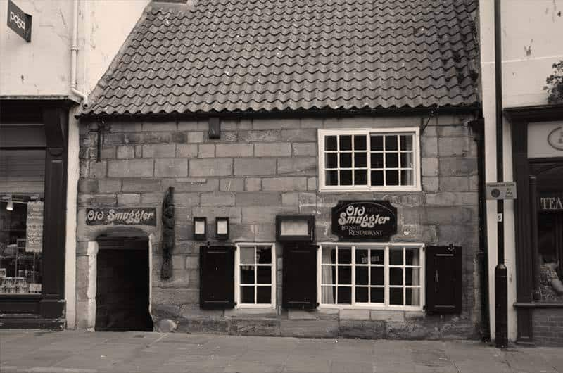 The Old Smuggler's Cafe in Whitby