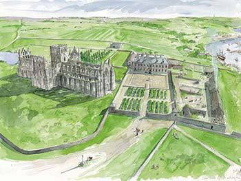 Whitby Abbey Reconstruction