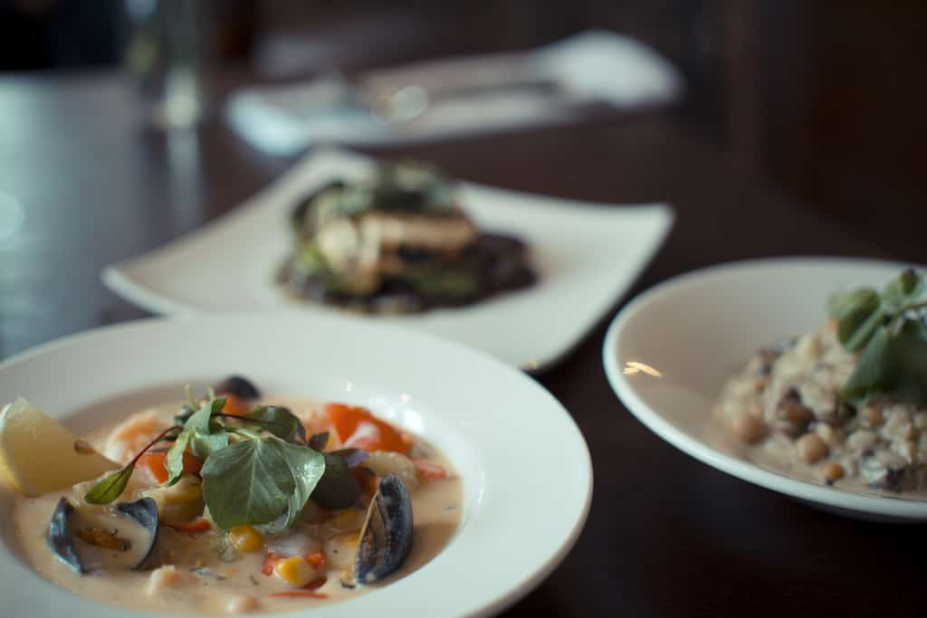 Four to five small plates per person are recommended; Harry's Bar Review
