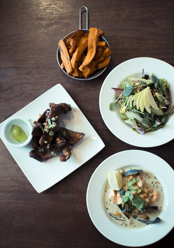 Our second selection of small plates: Harry's Bar Review