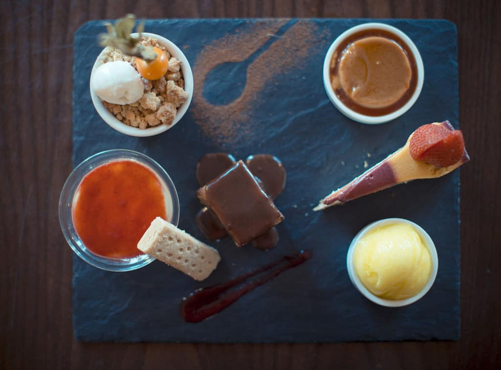 Six of the best; the dessert tasting platter; Harry's Bar Review