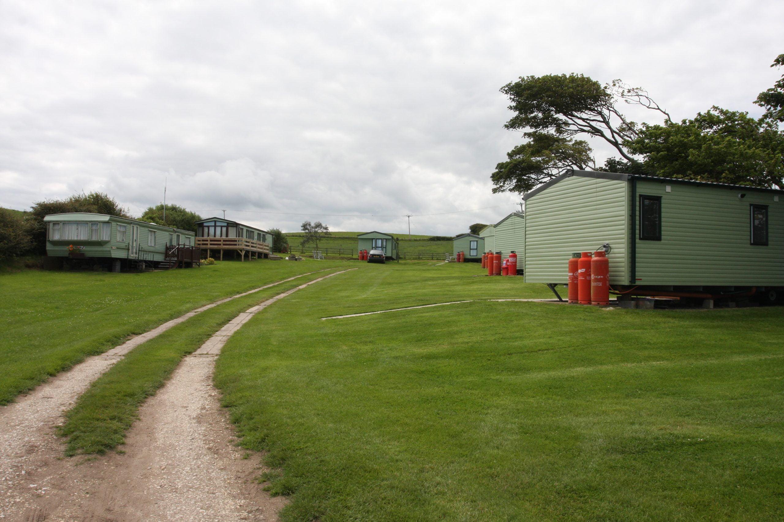 High Straggleton, static caravans in Whitby