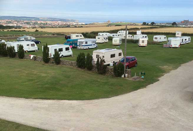 Manor House Farm Caravan Park in Whitby