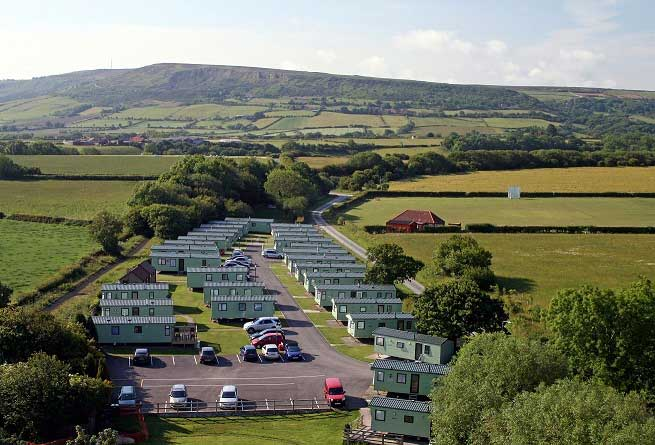Middlewood Farm Caravan Park in Whitby