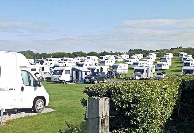 Sandfield House Farm Caravan Park in Whitby