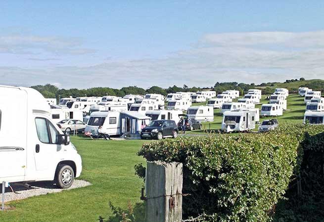 Sandfield House Farm Caravan Park in Whitby